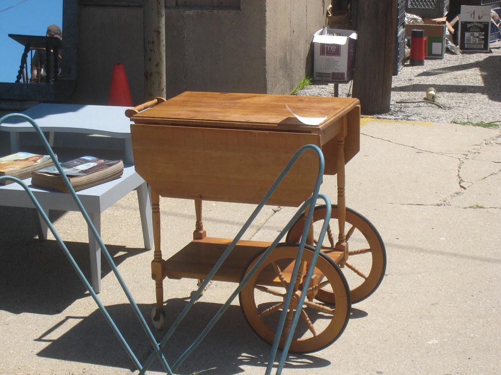 Myrna Loy's Tea Cart