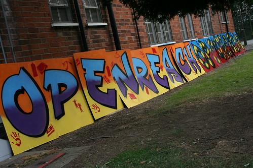 BT OpenReach Graffiti