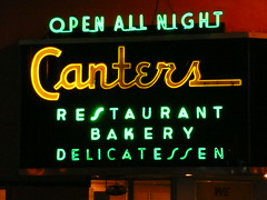 Los Angeles, CA Canters Delicatessen 13 (army.arch) Tags: california ca nightphotography sign losangeles neon type delicatessen losangelescalifornia vintagetype