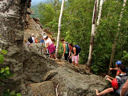 Hiking near Eagle Cave