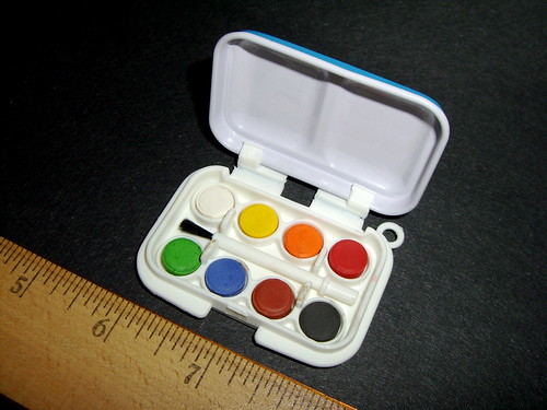 Toy Watercolor Set - Open
