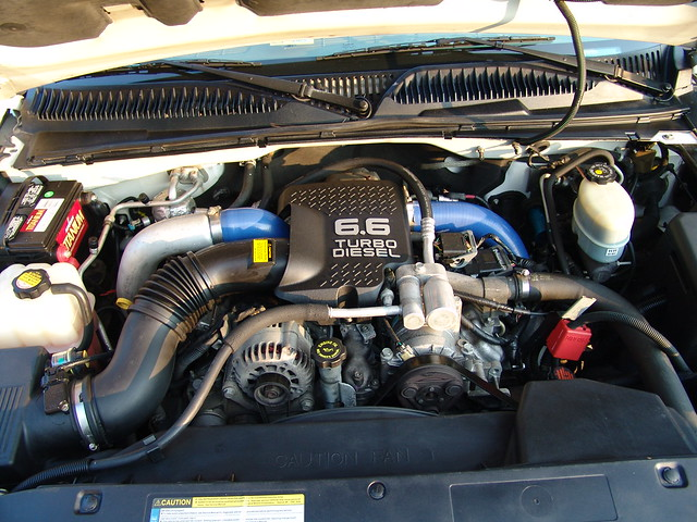 2001 diesel turbo chevy 01 duramax 2500hd 66l