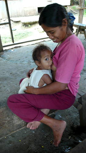 Mother breastfeeding her baby child World Breastfeeding Week Mindoro rural scence Pinoy Filipino Pilipino Buhay  people pictures photos life Philippinen  菲律宾  菲律賓  필리핀(공화국) Philippines