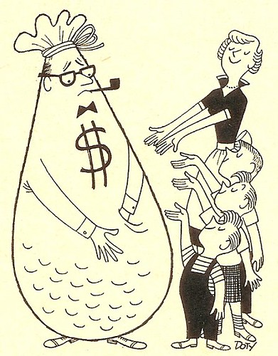 Dad the Moneybag 1957 (by senses working overtime)