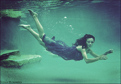 live free (AustinTX) Tags: color film water pool underwater dress explore jessa nikonos nikonosv exploretop10
