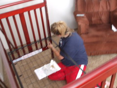 Jul30.08_Setting Up Crib (2)