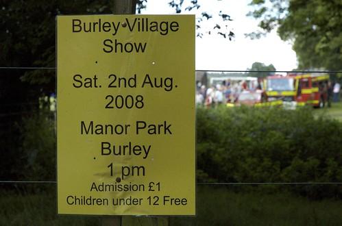 Burley Village Show