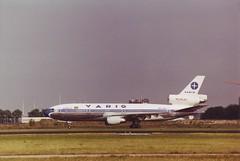 McDonnell Douglas DC-10-30 (Den Batter) Tags: minoltax700 spl schiphol varig dc10 eham mcdonnelldouglas 48282 01l19r ppvmy