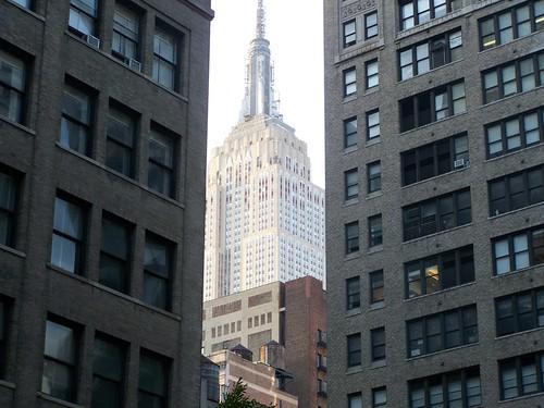 Empire State, al salir del metro