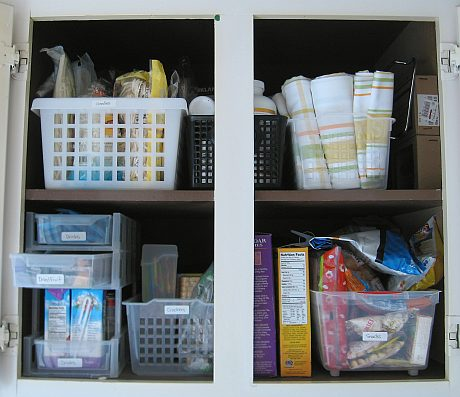 After: Organized pantry 4