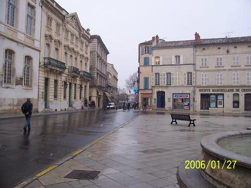 空曠的冬日廣場