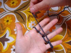 Tricô de dedo 5