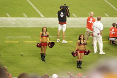 PreseasonBucsVsPats-0090 (awinner) Tags: game football stadium nfl cheerleader 2008 raymondjamesstadium preseason tampaflorida tampabaybuccaneers newenglandpatriots august2008 august17th2008