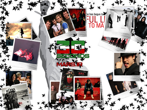 30 seconds to mars wallpapers. 30 Seconds To Mars [Wallpaper