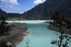 Kawah Putih , Patuha Volcano, Indonesia.