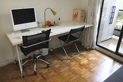 (orphan girl) Tags: ikea home mac workspace fira vika worklamp vikaamontable runtorpleg kvrat jeffchair