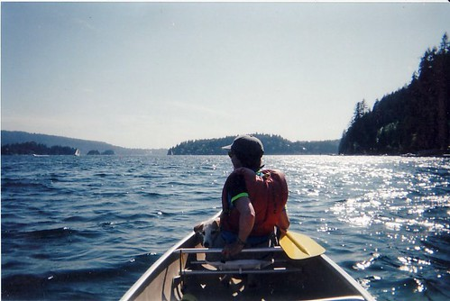 toby and canoe