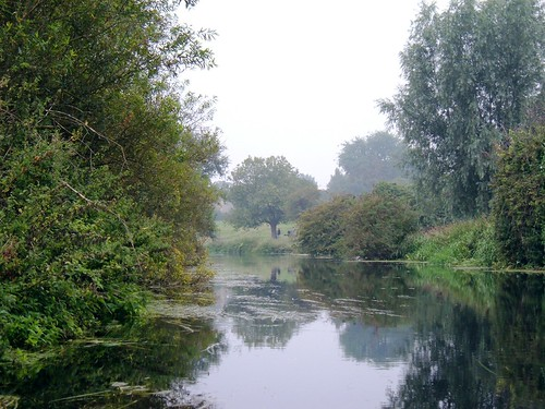 River Cam, with picnic spot at the end