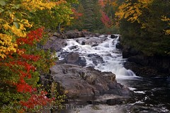 Chutes Croches during fall in Parc national du Mont Tremblant Quebec Canada (Rolf Hicker Photography) Tags: world travel canada fall nature water river outdoors landscapes waterfall quebec scenic waterfalls rivers provincialpark monttremblant laurentides naturephotography travelphotography fallpictures 5photosaday easterncanada provincialparks rolfhicker parcnationaldumonttremblant rivieredudiable waterfallpictures chutescroches honeymooncanada parcsquebec hickerphotocom