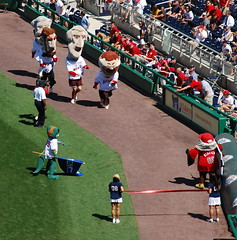 Teddy Roosevelt extends his losing streak in the Washington Nationals presidents race