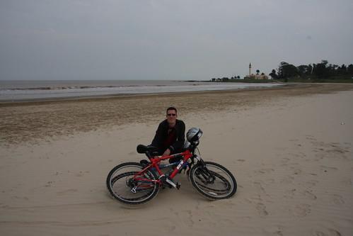 2nd September 2008: Biking in Montevideo