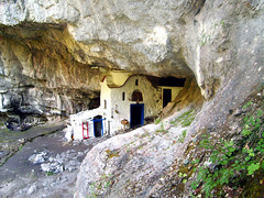 Church at Holy cave in greece (seanfderry-studenna) Tags: greece pecina grcka   holycave  svetapecina