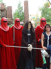 2003 Star Wars Weekends : Walt Disney World : The Emperor