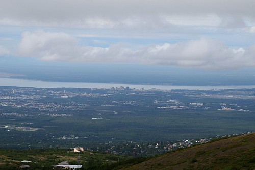 Anchorage from Flattop Mountain Trail
