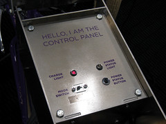 Hello, I Am the Control Panel