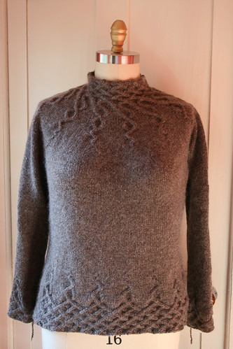 Wisteria sweater by Kate Gilbert