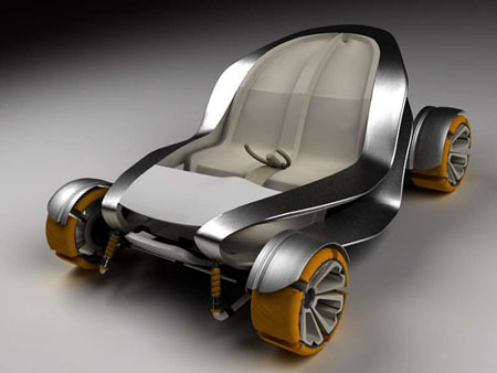 Sixteenth futuristic car photo