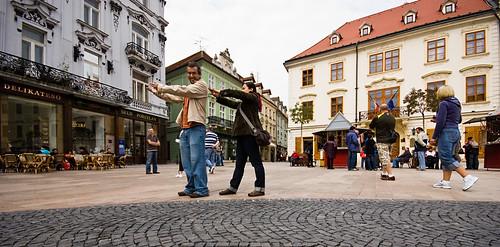 Zombies involuntarios en Bratislava (365-132)
