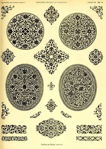 Diseño en la  impresión de libros antiguos