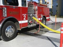 Engine 2 at Wicktonville College