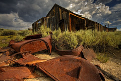 time (Wolfgang Staudt) Tags: california old trip travel blue summer sky usa southwest west color green art beautiful car clouds america wonderful spring amazing nikon soft heaven angle sandra nikond70 rusty sigma roadtrip 2006 sierra journey ghosttown thunderstorm gras bodie sierranevada hdr goldrush orton lonelyness blueribbonwinner monocounty travelphotographie geisterstadt bodiestatepark abigfave wolfgangstaudt 66111