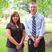 VP Raquel Perez & Pres. David Ober