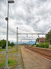 Gare de Culoz (Massis_) Tags: france gare railway hdr culoz hdrenfrancais