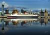 QE 2 2008 (mlegg31) Tags: rivers qe2 waterways hms cruiseliner rivermersey liverpool08 capitalofculture2008