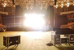Nine Inch Nails. (carolinadagach) Tags: chile justin santiago sky robin america wow lights inch south nine over arena josh nails reznor trent carolina 2008 freese finck alessandro cortini johnsen meldal dagach wwwwowcl