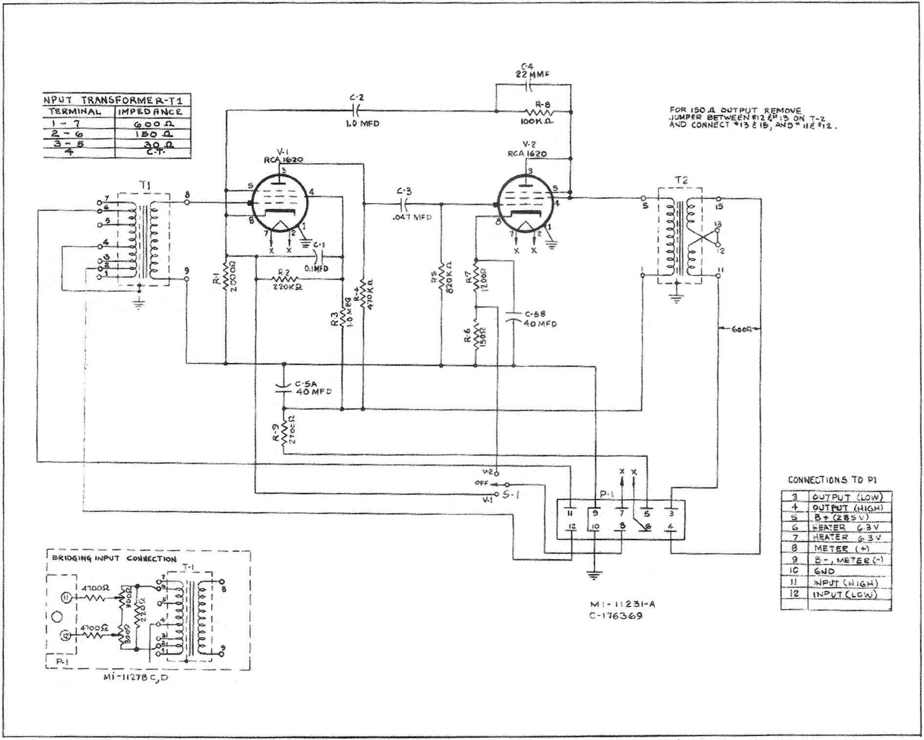 rca ba 11a anyone have a schematic rh groupdiy com Dual 3.5Mm to RCA Adapter RCA Input Speakers
