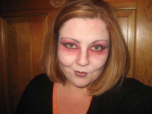 vampire eye makeup. Vampiress Makeup