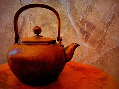 yakan () (msdonnalee) Tags: photomanipulation japanese antique  explore kettle brass  yakan abigfave donnacleveland photosbydonnacleveland sliderssunday