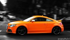 Audi TT-S (Jeroenolthof.nl) Tags: orange white black car germany jeroen nikon d70s exotic german vehicle tts af dusseldorf audi spotting digest 1870 olthof wwwjeroenolthofnl jeroenolthofnl jeroenolthof