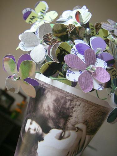 PJ Harvey CD art bouquet