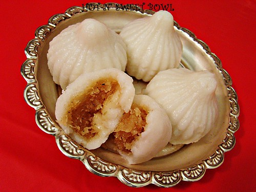 Sweet Coconut Kozhukattai