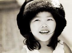 Faux Fur Hat (Shana Rae {Florabella Collection}) Tags: light portrait texture child natural sophie daughter florabella shanarae