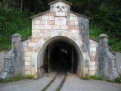 Entrance to the Hallstatt Salt Mine