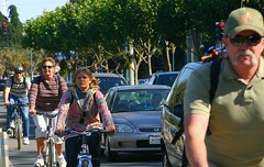 San Francisco cyclists bicycle bike