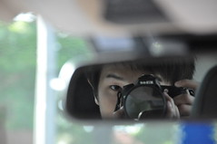 myself on the mirror (SSNNYY) Tags: boy portrait guy self myself asian mirror nikon chinese nikkor taking cantonese 18200 vr d90 sny