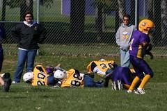 Nate making a tackle